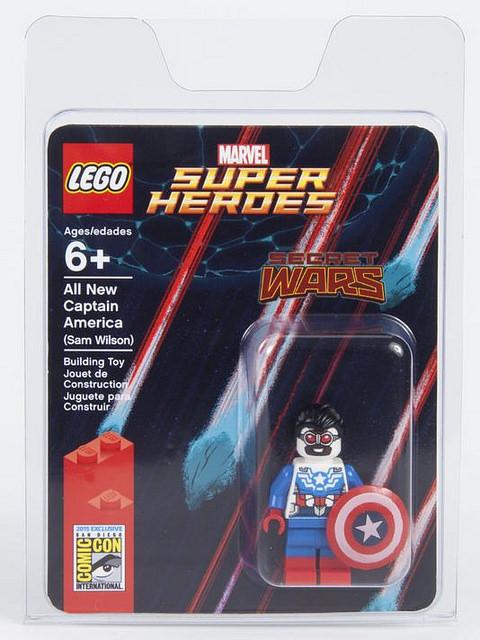 Comic-Con Exclusive All New Captain America(Sam Wilson) Giveaway
