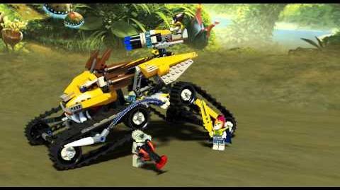 LEGO Chima 70005 - Lavalův královský lovec - animace