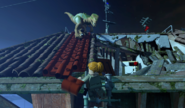 LEGO Jurassic World The Videogame Sarah and Raptor
