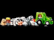 10952 La grange, le tracteur et les animaux de la ferme 4