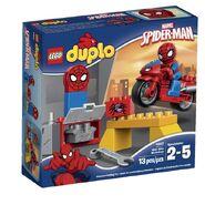 Large-lego duplo 10607 spider web bike