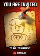 Poster Ninjago The Invitation