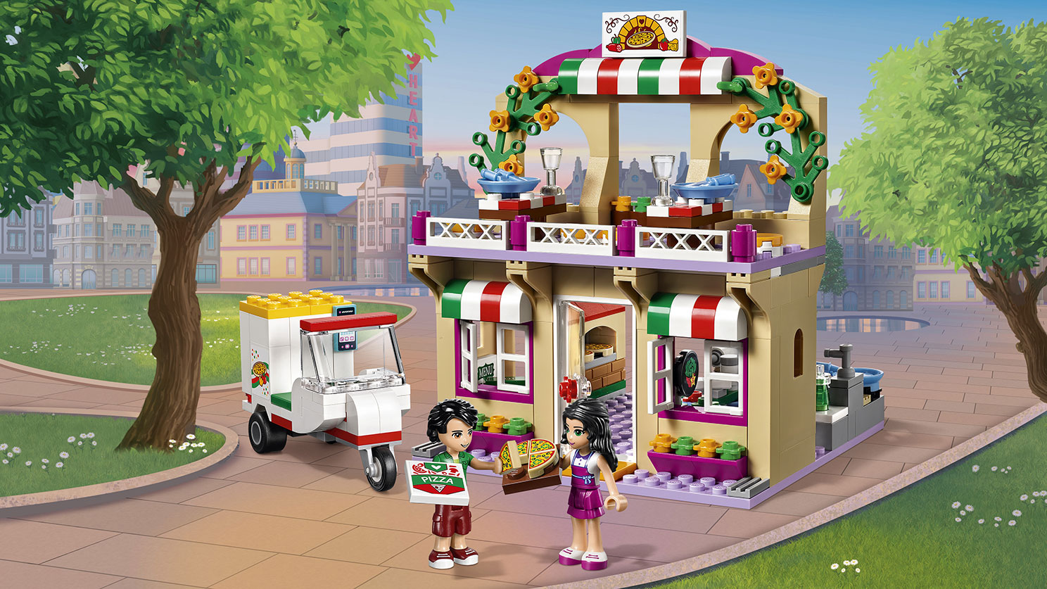 41311 La pizzeria de Heartlake City