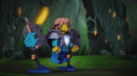 IL PERICOLO, ARDITO (E PICCOLETTO) SIR ROBIN - LEGO NEXO KNIGHTS - Episodio 8 - Italiano - 2016