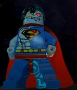 Cyborg Superman Pose