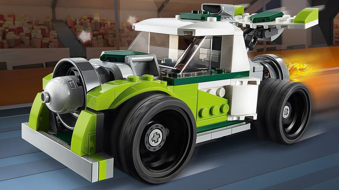 31103 Le camion-fusée