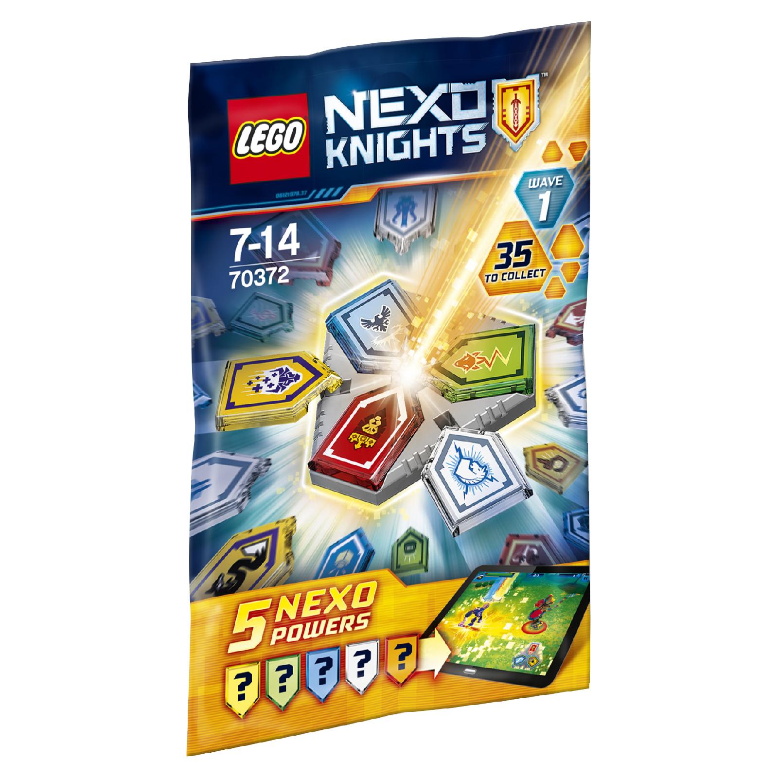 70372 Combo Nexo Powers Wave 1