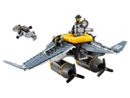 70609 Le bombardier Raie Manta 3