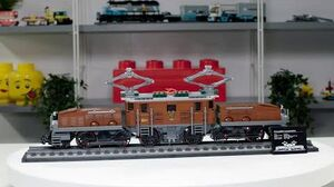 LEGO Crocodile Locomotive Incredible LEGO Train Set - 2020 Designer Video