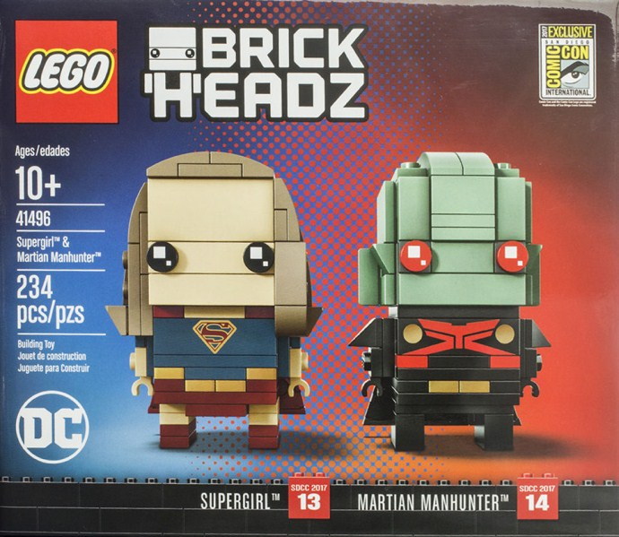 41496 Supergirl & Martian Manhunter
