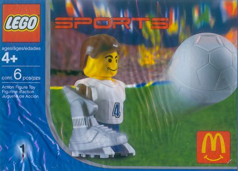 7923 White Football Player