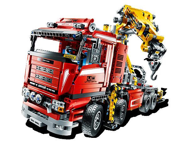 8258 Le camion-grue