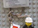 851042 Fireman Key Chain