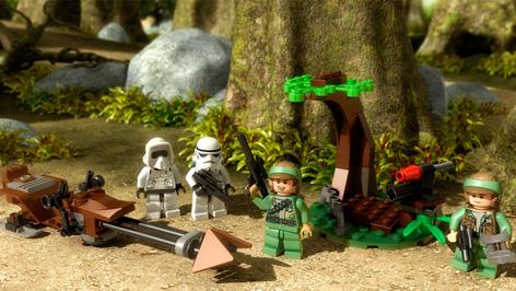 9489 Endor Rebel Trooper & Imperial Trooper
