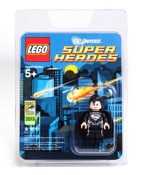 Comic-Con Exclusive Black Suit Superman Giveaway