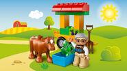 10524 Le tracteur de la ferme 4