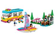 41681 Le camping-car et le voilier de la forêt
