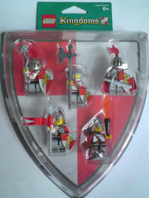 852921 Red Lion Knights Battle Pack