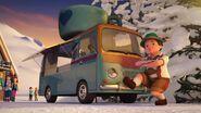 41319 La camionnette à chocolat de la station de ski