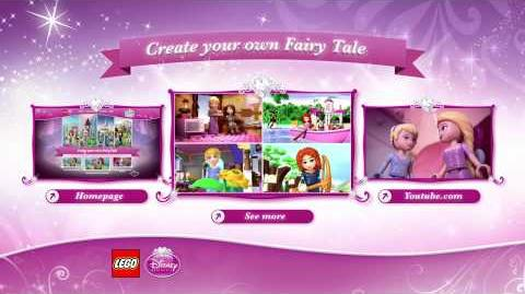 LEGO Brand Disney Princess Fairy Tale Adventure - Ariel