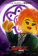 The LEGO Ninjago Movie Poster Koko 2