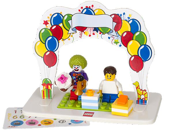 850791 Ensemble d'anniversaire Minifigures