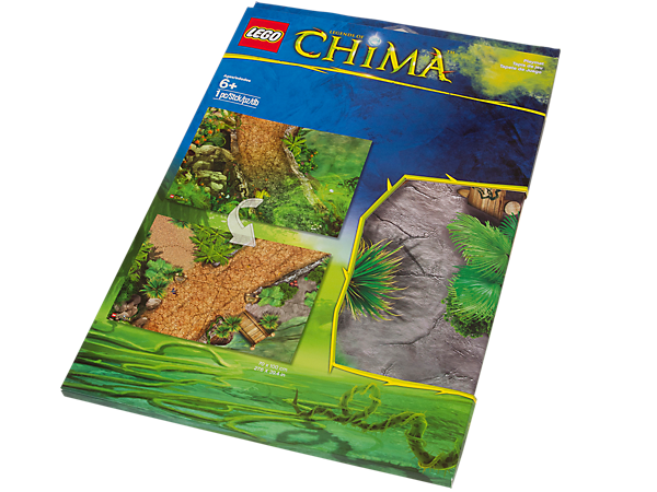 850899 Tapis de jeu Legends of Chima