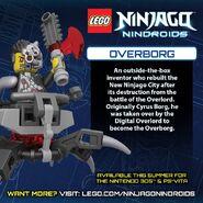 LEGO Ninjago Nindroids Overborg
