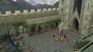 Lego2 Hogwarts courtyard