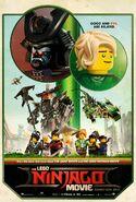 The LEGO Ninjago Movie Poster SDCC 2017
