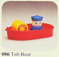 086 Tub Boat