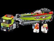 60254 Le transport du bateau de course