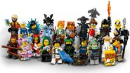 71019 Minifigures Série LEGO Ninjago, Le Film