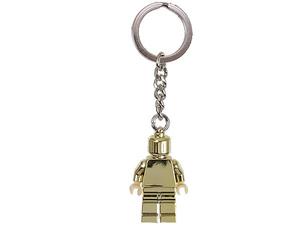 850807 Porte-clés Figurine dorée