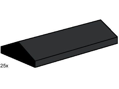 B004 Roof Tiles Sloped Black