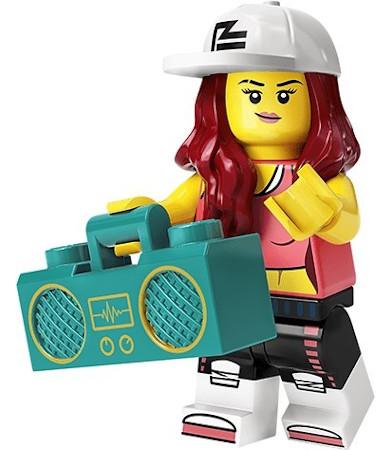Danseuse de hip-hop
