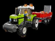 7684 La porcherie et le tracteur 2