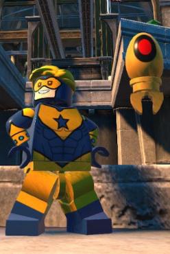Booster Gold & Skeets