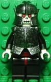 Skeleton Warrior White Speckled Breastplate n Helmet small