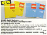 2020 LEGO Beginning Reading Skill Builder Books 1 and 2