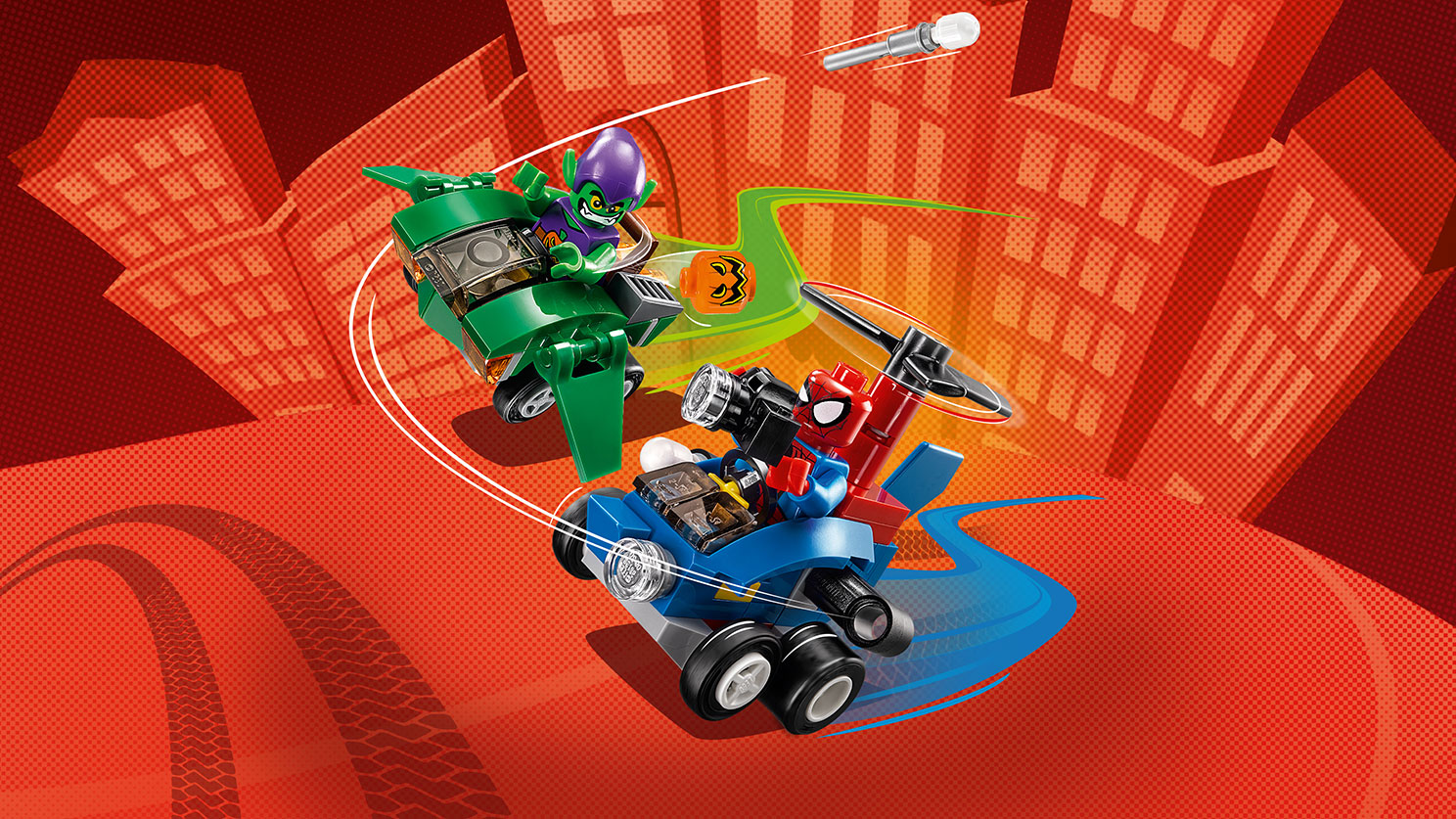76064 Mighty Micros : Spider-Man contre le Bouffon Vert
