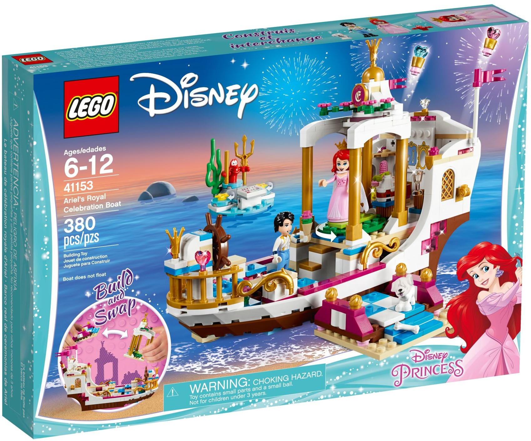 41153 Ariel's Royal Celebration Boat