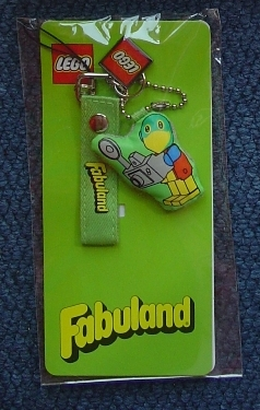 4503057 Accessory Strap with Fabuland Parrot pendant