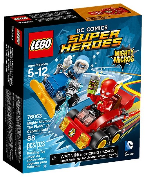 76063 Mighty Micros: The Flash vs Captain Cold