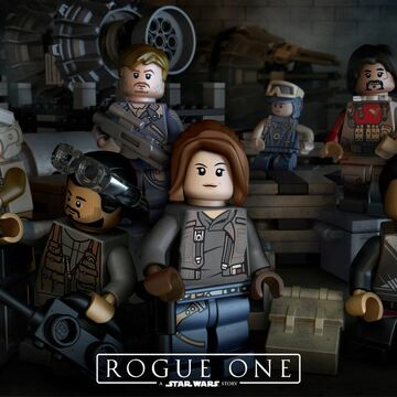 Lego Star Wars Rogue One Minifigure K-2SO Droid 75156!