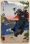 The LEGO Ninjago Movie Poster Garmadon dessin
