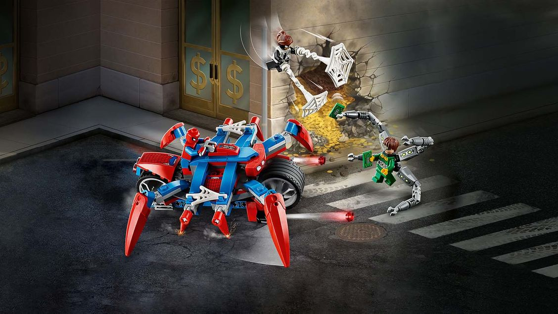 76148 Spider-Man contre Docteur Octopus