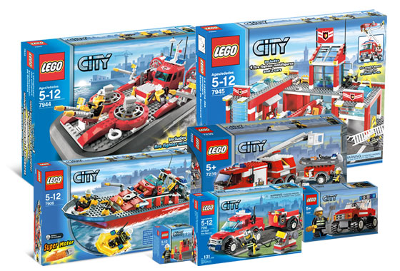 K5613 City Fire Station Collection