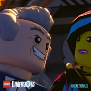 LEGO Dimensions Docteur Cool-Tag