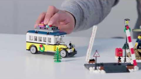 Winter Village Station - LEGO Creator Expert - 10259 - Designer Video